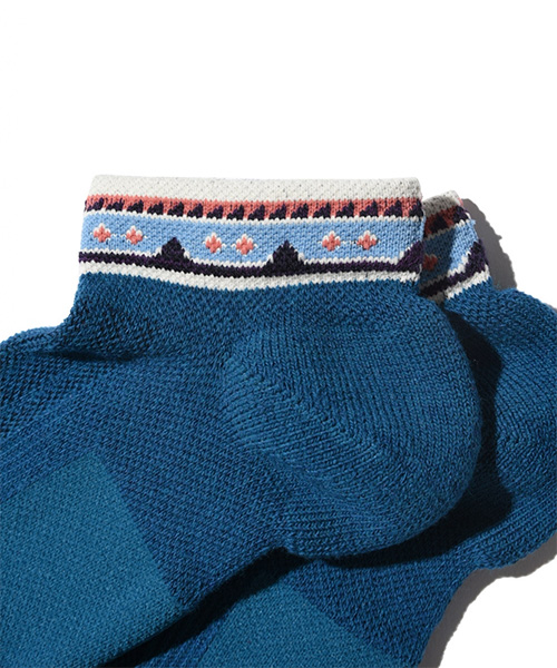 SUPPORT PILE SHORT NATIVE BLUE MIX