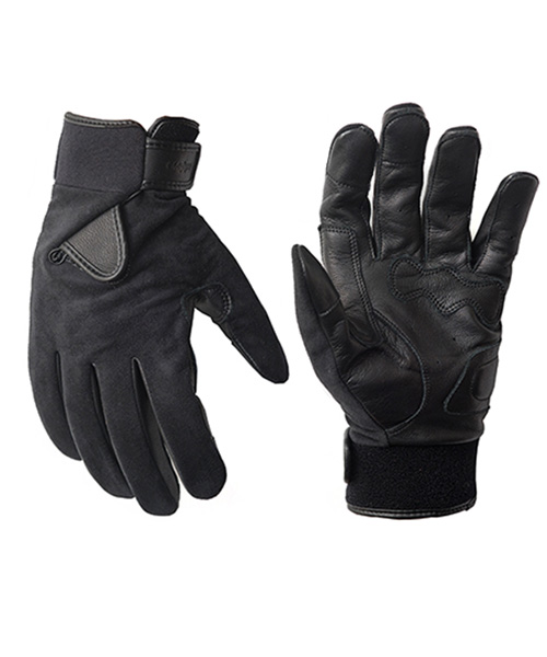 HYBRID GLOVE_ULTRASUEDE BLACK