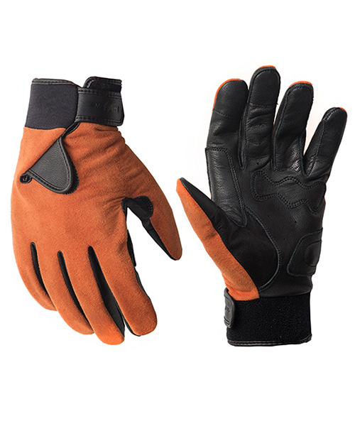 HYBRID GLOVE_ULTRASUEDE ORANGE