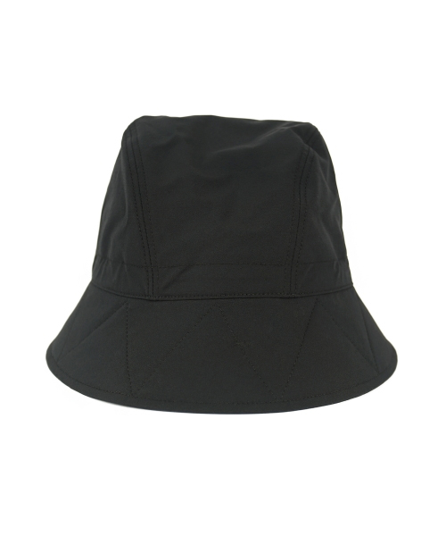 Double Cloth Hat BLACK