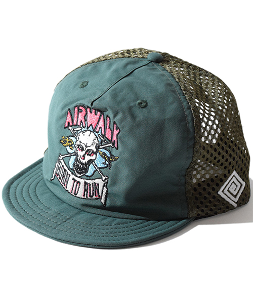 Born To Run Cap Green