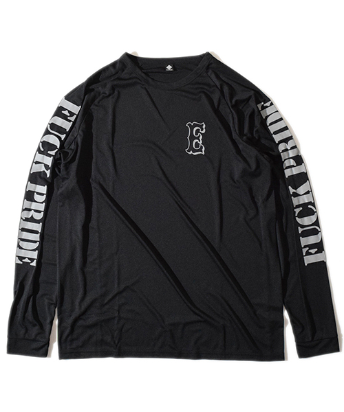 Pride Raglan Long T Black