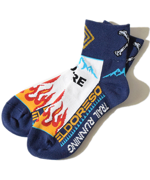 Flame Sox White