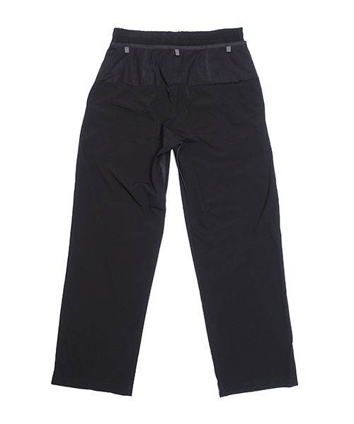 WIDE LONG PANTS Black