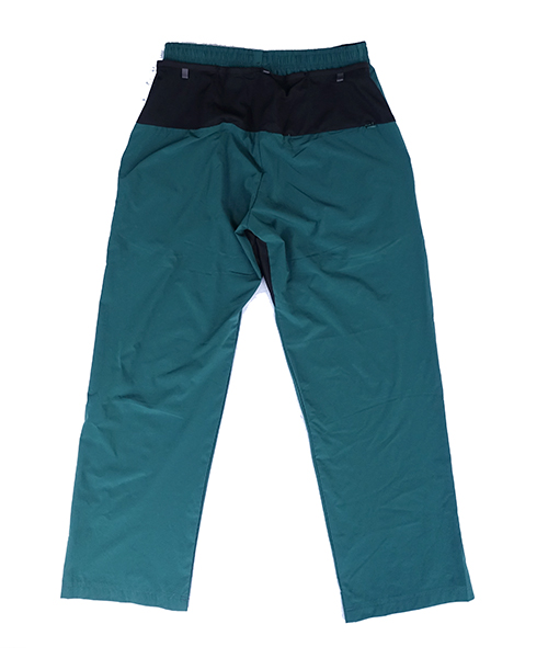WIDE LONG PANTS Green