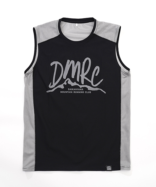DMRC MESH SLEEVELESS BK/GREY