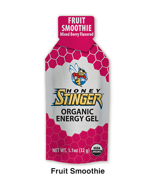 ORGANIC ENERGY GEL FRUITS SMOOTHIE