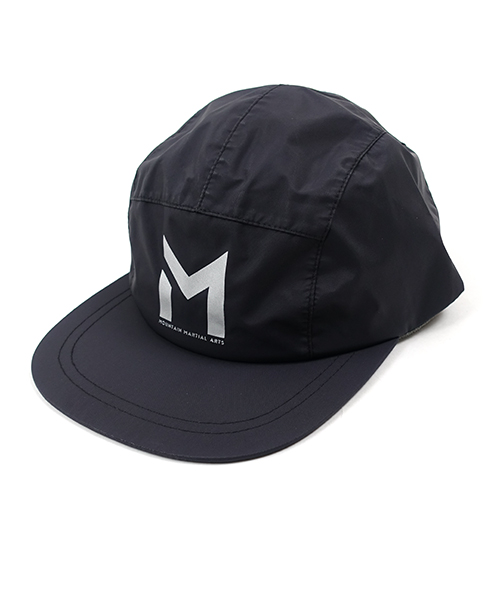 3layer Reflect Logo Cap Black