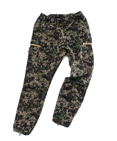 7pkt Run Long Pants Digital Camo