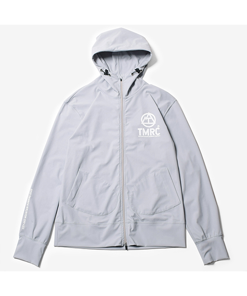 TMRC Cool Touch Hoodie Light Grey