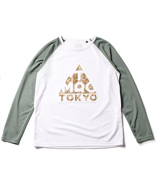 TMRC Logo Long Sleeve Tee White