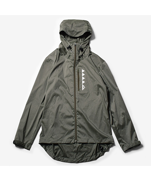 MMA Packable Stretch Wind Shell Olive