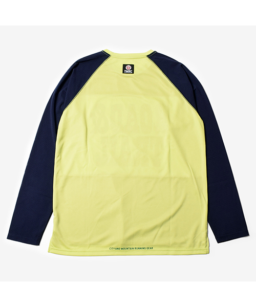 TMRC R&T Panel Mesh Long Tee YellowNavy