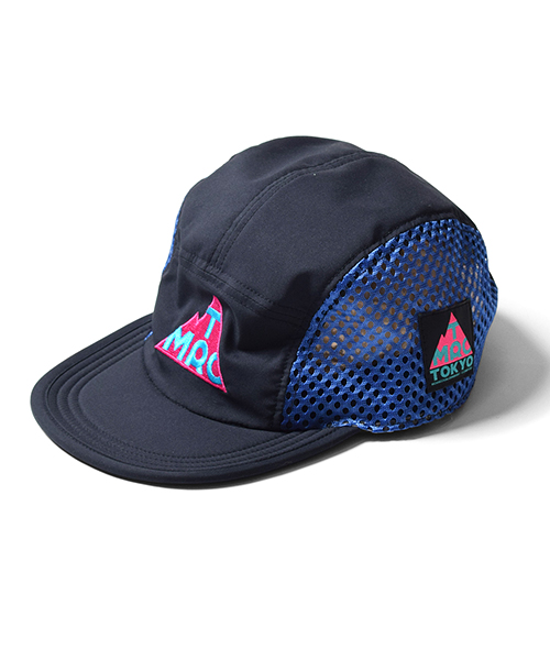 TMRC Side Mesh Run Cap Navy
