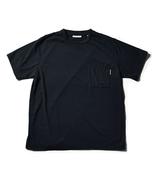 Solid Pocket Dry Tee Black