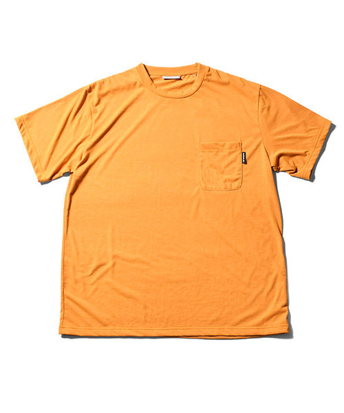 Solid Pocket Dry Tee Mustard