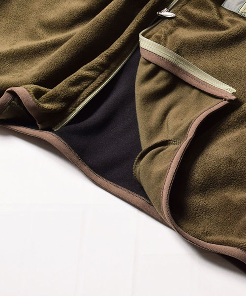 Thermolite Fleece Zip Khaki