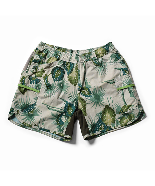 Women's 7pkt Run Shorts Green