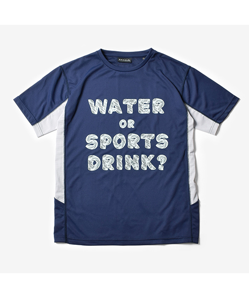 MMA Water or Sports Drink Tee Navy