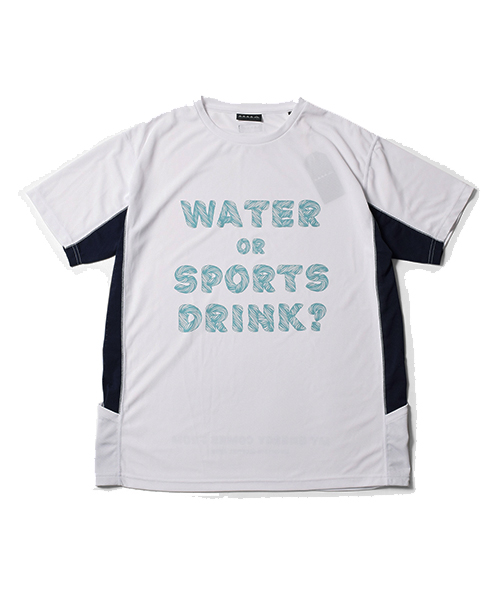 MMA Water or Sports Drink Tee White