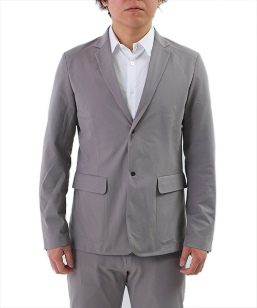 Going Places Jacket Light Grey