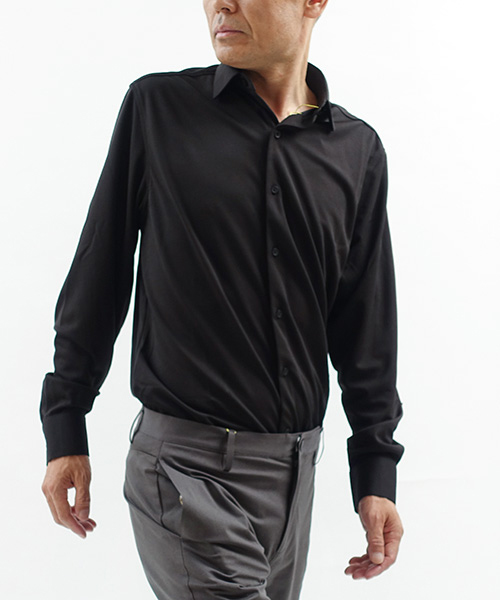APOLLO 3 Dress Shirts Black