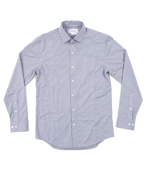 Hybrid Dress Shirts BlueStripe