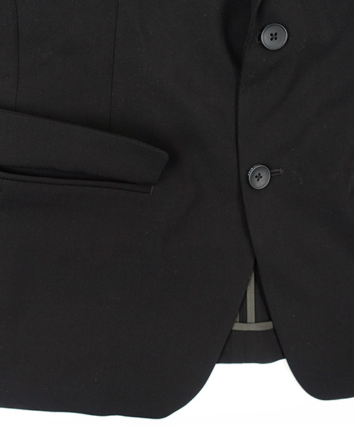 Velocity Suit Jacket Black