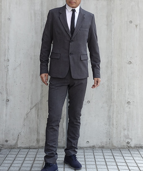 Velocity Suit Jacket Charcoal