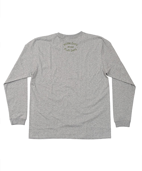 WORKDAYS L/S Tee ASH