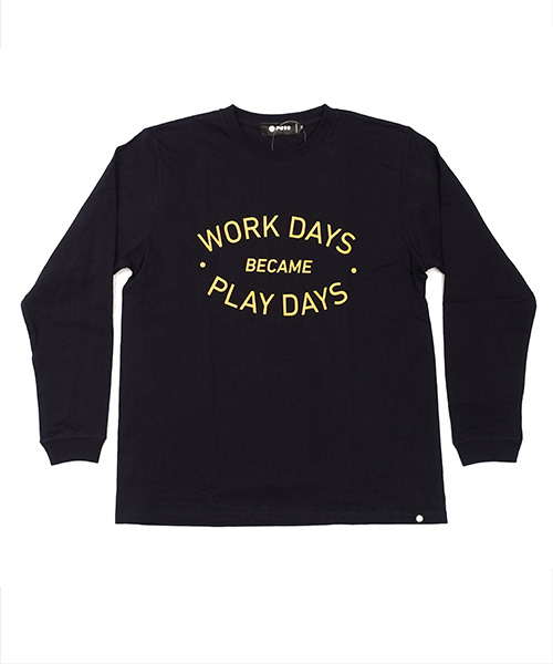 WORKDAYS L/S Tee NAVY