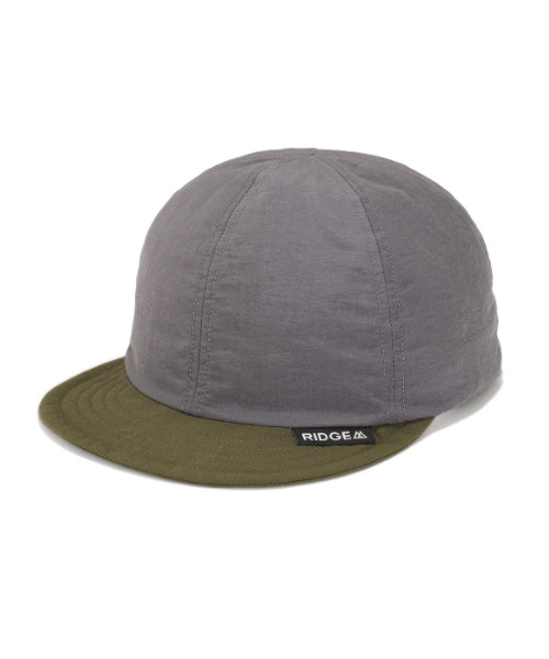Basic Cap By Color Grey/Olive