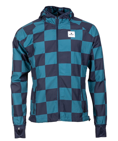 Checker Pace Hooded Jacket