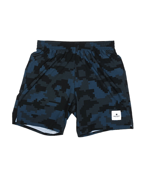 Camo Pace Long Shorts - Pixel Camo