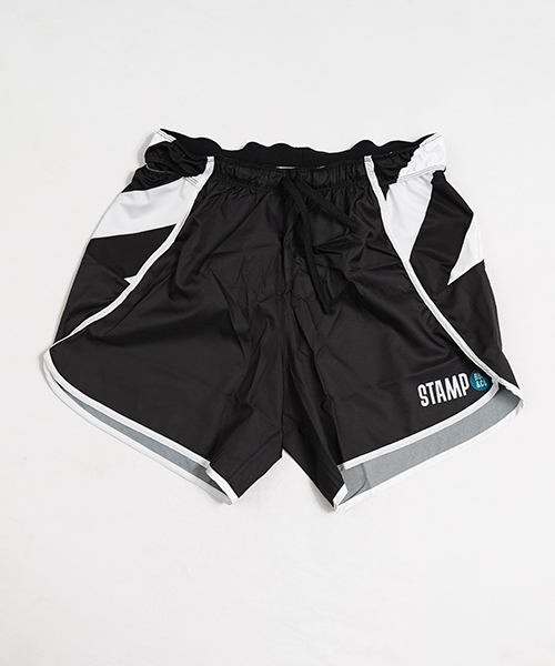 STAMP 5 POCKET SHORTS (BLACK / STRIPE)