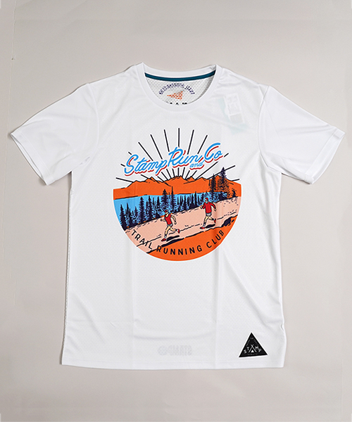 STAMP GRAPHIC RUN TEE (STAMP Trail Running Club)