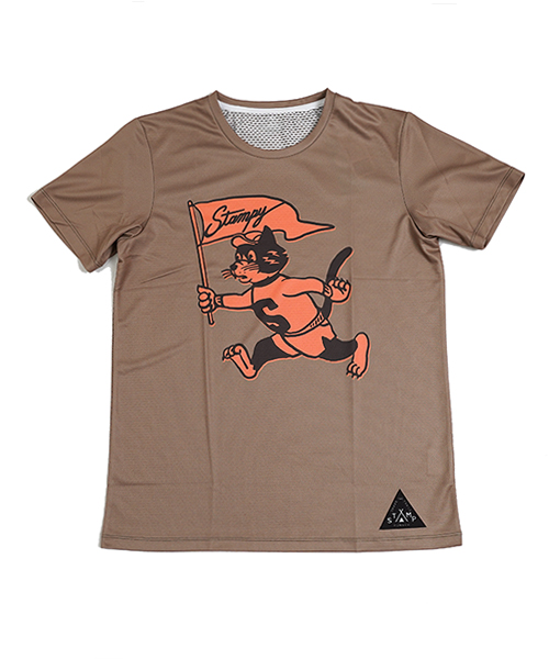 STAMP GRAPHIC RUN TEE (Run Stampy Run!)