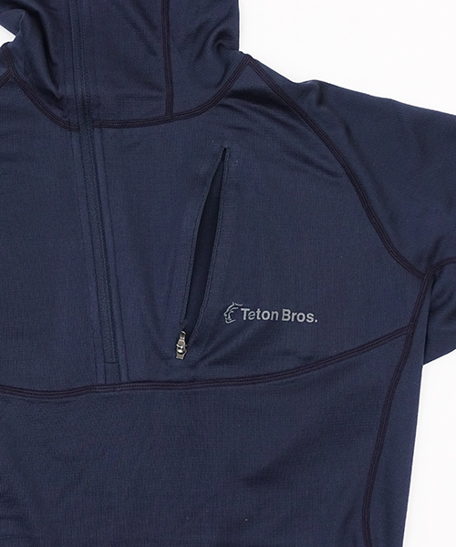 Power Wool Hoody MW Navy