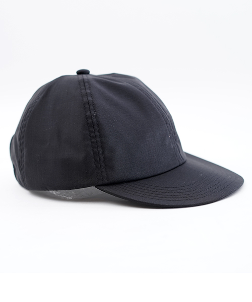 FLIP UP B CAP MERINO WOOL BLACK