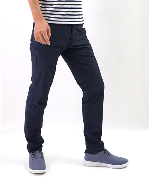 SUMMER BASIC PANTS NAVY