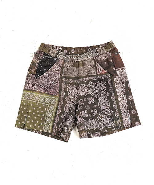 BANDANA MIDDLE SHORTS OLIVE