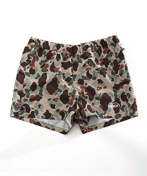 DUCK CAMOUFLAGE VERY SHORT L.Beige