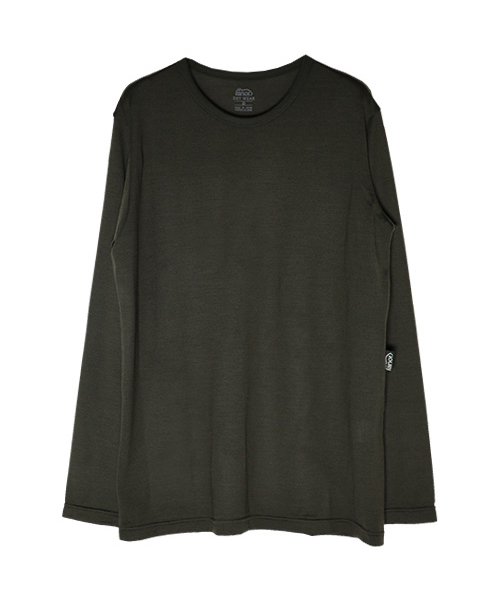 MERINO LONG T-SHIRT OLIVE