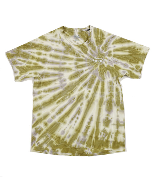 RADIATION TIE DYEING T-SHIRT MUSTARD