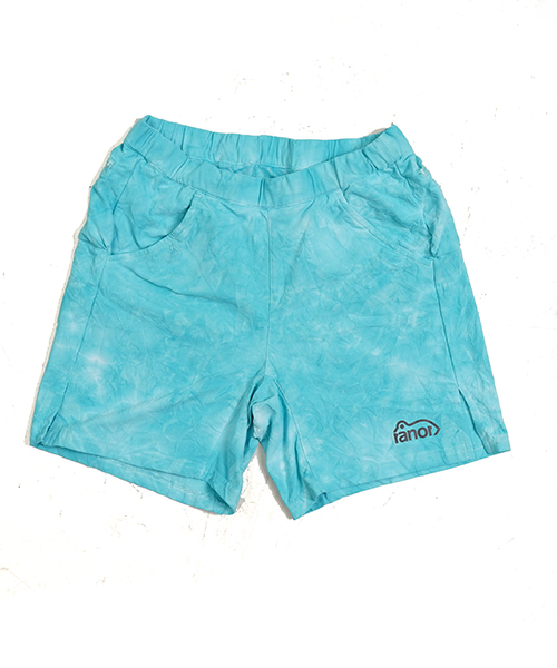TIE DYEING MIDDLE SHORTS MINT