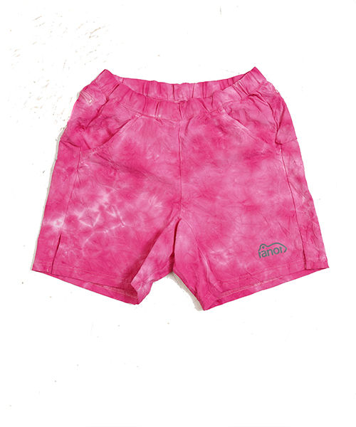 TIE DYEING MIDDLE SHORTS PINK