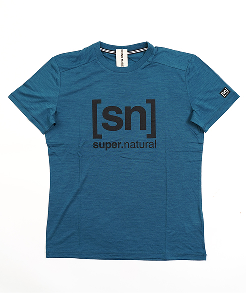 ESSENTIAL I.D. TEE BLUE