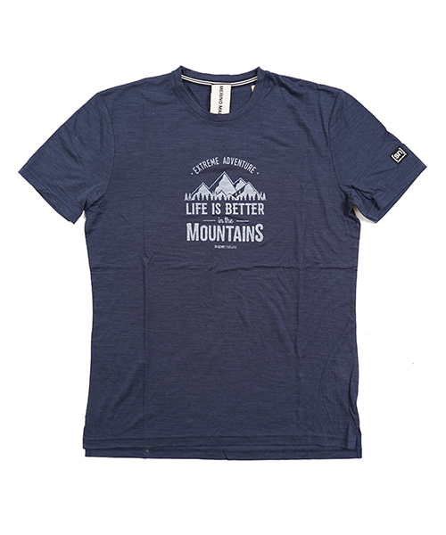 GRAPHIC TEE NAVY